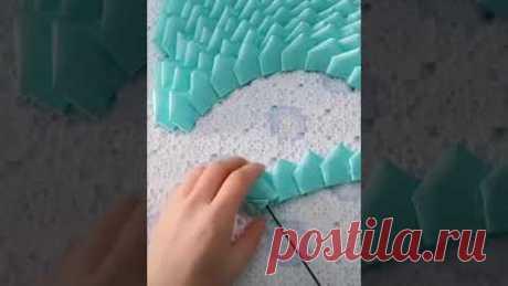 Cách làm và bó hoa hồng bằng ruy băng