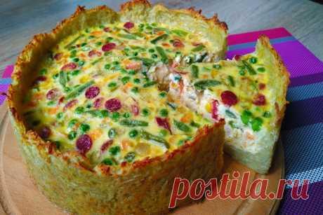 """Пирог """"Драник"""" покоряет сразу, хоть каждый день готовь! — Кулинарная книга - рецепты с фото"""