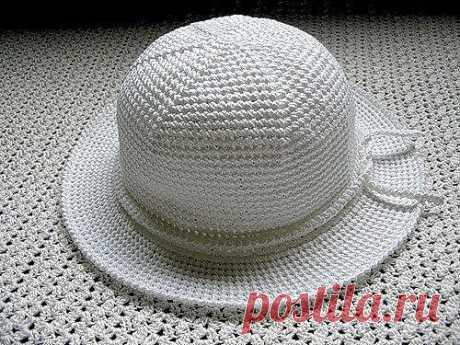 Крахмалим шляпку в микроволновке