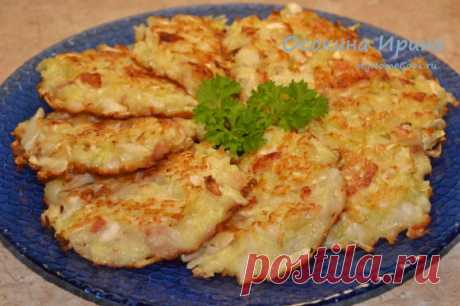 Капустные оладушки-3. Рецепт с фото
