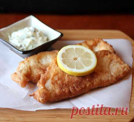 Рыба в кляре Отличный рецепт приготовления ароматной жареной рыбы Тилапия в пивном кляре.