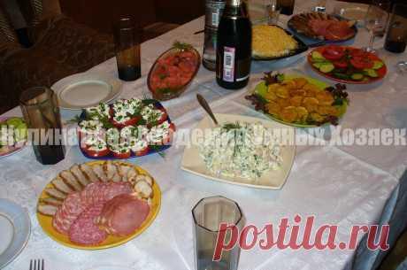 Готовое меню для летнего дня рождения ~ Кулинарная Академия Умных Хозяек