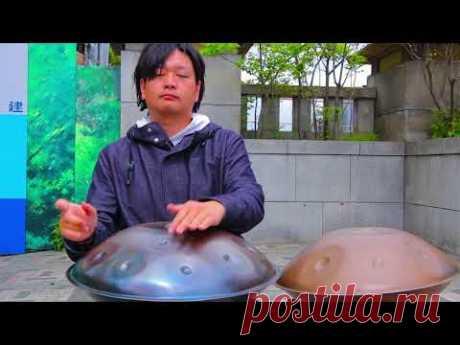 Osamu Morita Handpan - YouTube