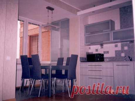 Интерьер кухня-столовая