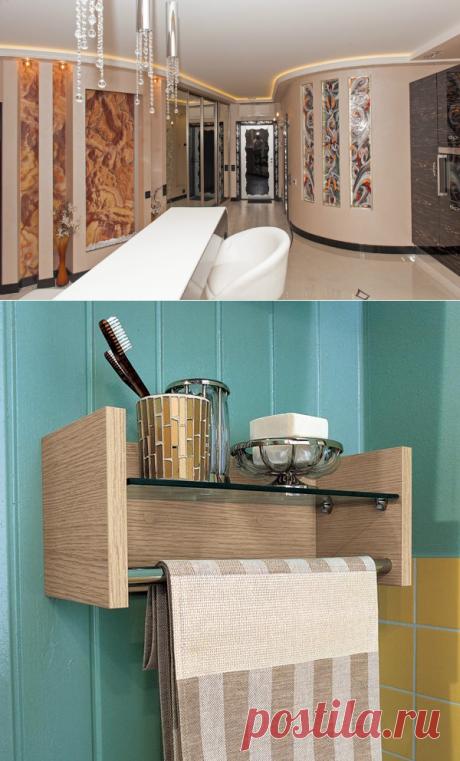 Практичные идеи хранения в ванной комнате — Интерьер и Декор