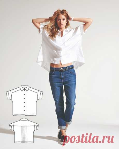 Блузки - подборка выкроек для вас, все подробности в описании к фото