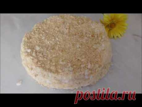 "Торт без выпечки ""Наполеон экспресс""(Cake without baking)"