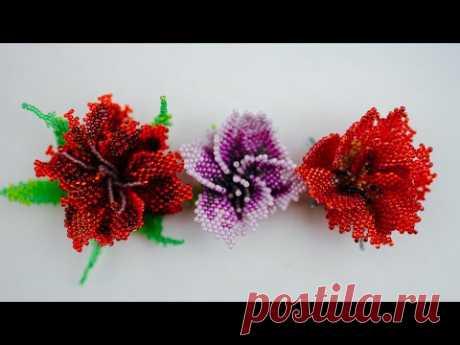 Немного о технике фриформ в плетении цветов из бисера. | Разнообразные поделки из бисера: схемы,мастер классы