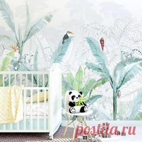 21 идея, как превратить обычную детскую в яркий тропический рай — Дом и Сад