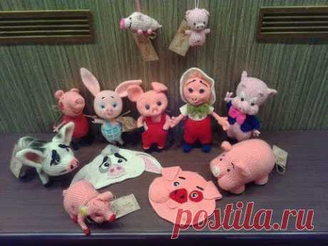 2019 - год Свиньи! 2019 - the year of the Pig! Мой свинарник за лето. My pigsty for the summer.