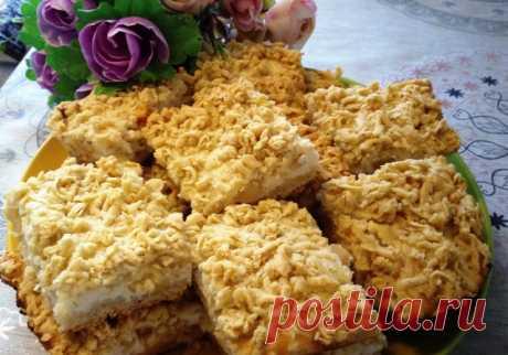 Тёртый пирог с творогом и яблоками – пошаговый рецепт с фотографиями