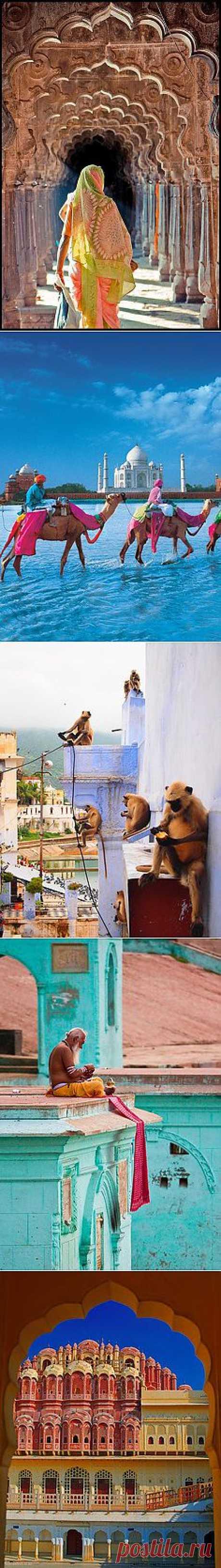 Индия | Места эти увидеть когда-нибудь...
