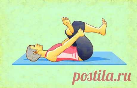 3 простых упражнения из пилатеса для снятия болей в спине | Здоровый Дух | Яндекс Дзен