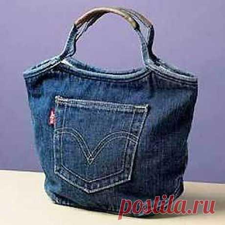 ШКОЛА ШИТЬЯ: Выкройка  из джинсов от Анастасии Корфиати