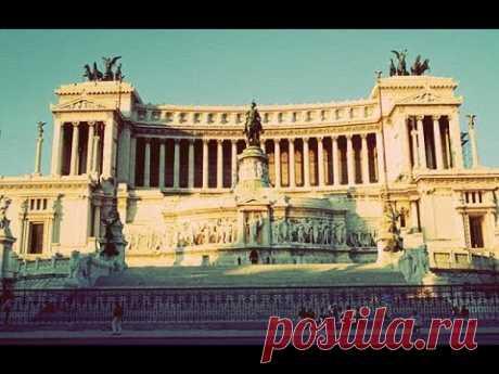 ИТАЛИЯ: Центр Рима... прогулка по Вечному Городу - от Термини до Пьяцца Венеция... ROME ITALY