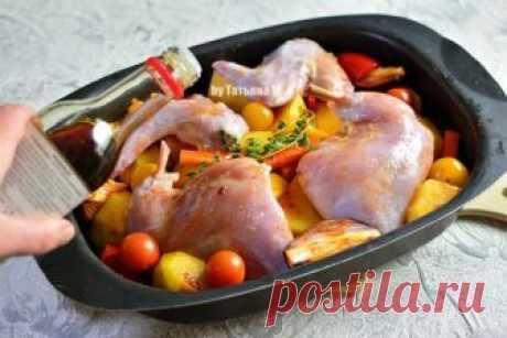 Кролик с картофелем в духовке   Кулинарный блог Татьяны М.