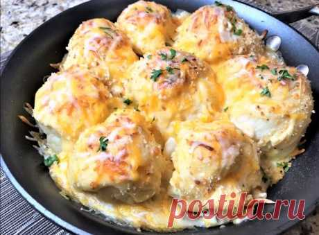 Cauliflower in an oven: more tasty than any meat