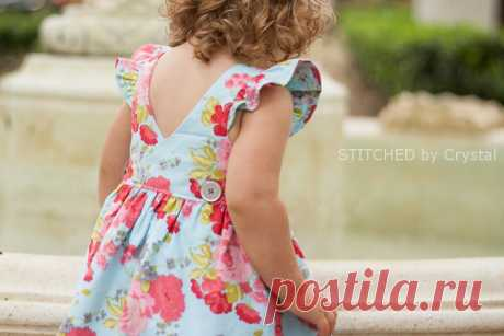 The Bay Dress and Top by Brownie Goose — Pattern Revolution