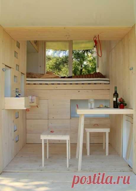 60 идей для дачного домика на маленьком участке