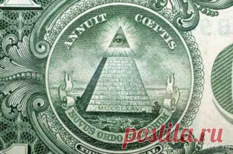О значении символов долларовой купюры — Интересные факты