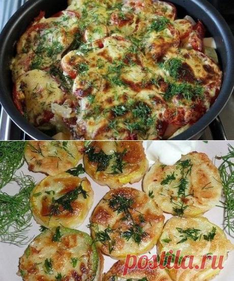 Летние блюда из кабачков. Рецепты простые, быстрые, вкус радует. | ПОВАРЕНОК  В ДОМЕ       | Яндекс Дзен