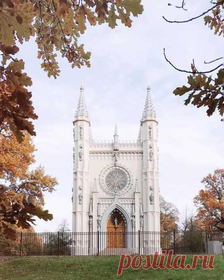 Чем заняться осенью в Петербурге?