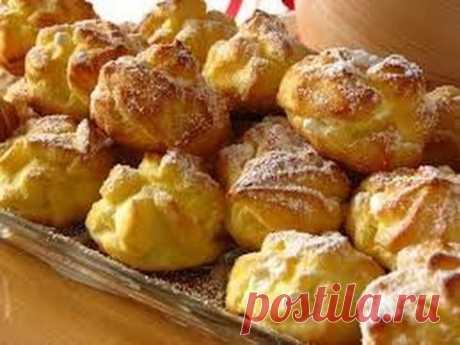 """Los pasteles cocidos """"Эклеры"""" \/ es fácil Preparar"""