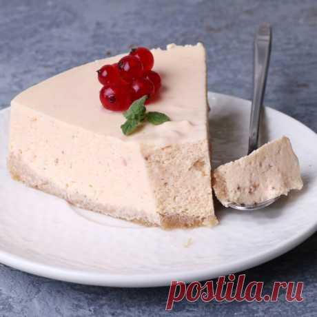 Торт-суфле без выпечки!🍰 | kiwihealthy | Яндекс Дзен