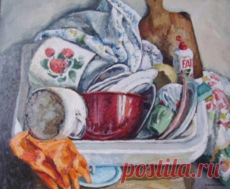 Еще несколько советов по мытью грязных кастрюль / Домоседы