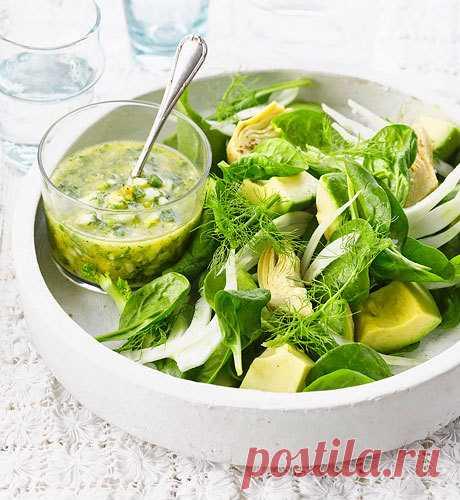 100 рецептов салатных заправок