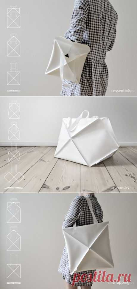 Сумка-оригами / Сумки, клатчи, чемоданы / ВТОРАЯ УЛИЦА