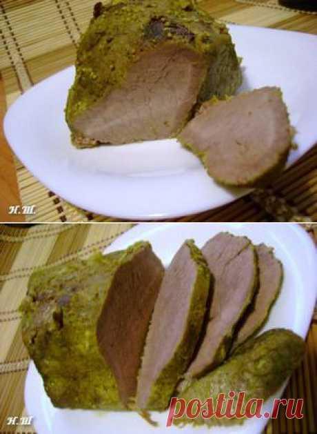 Буженина в мультиварке - кулинарный рецепт