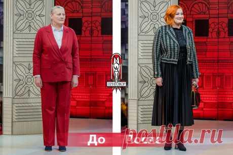 Из типичной бабушки в стильную и статную женщину: яркий пример того, как стоит одеваться женщинам в 55+ | pooopcooornnn | Яндекс Дзен