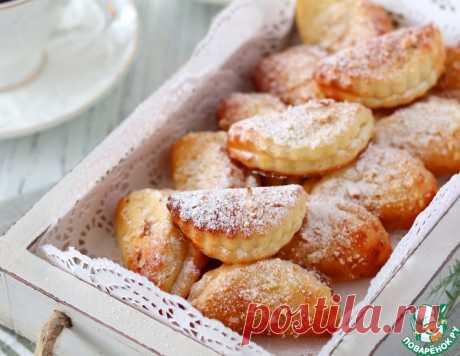 Печенье творожное с миндалем – кулинарный рецепт