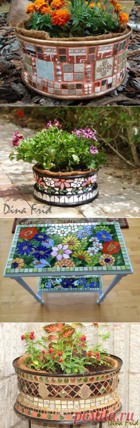 Вазоны для цветов — Сделай сам, идеи для творчества - DIY Ideas
