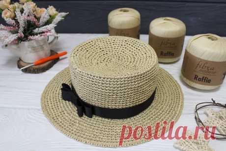 Шляпа крючком, нюансы изготовления в домашних условиях, мастер-классы