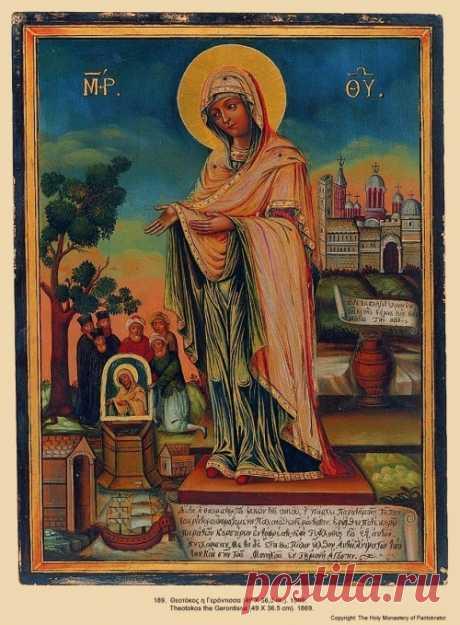 Геронтисса – женская икона Божией Матери для пожилых людей
