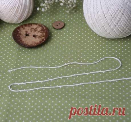 Вязание в три нити с одного мотка. Мастер-класс