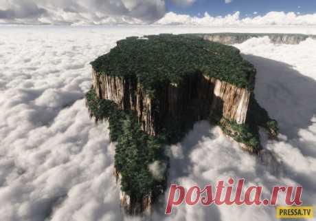 «Затерянный мир» в  юго-восточной части Венесуэлы (34 фото)