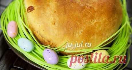Пасхальный хлеб рецепт   Готовим вкусно