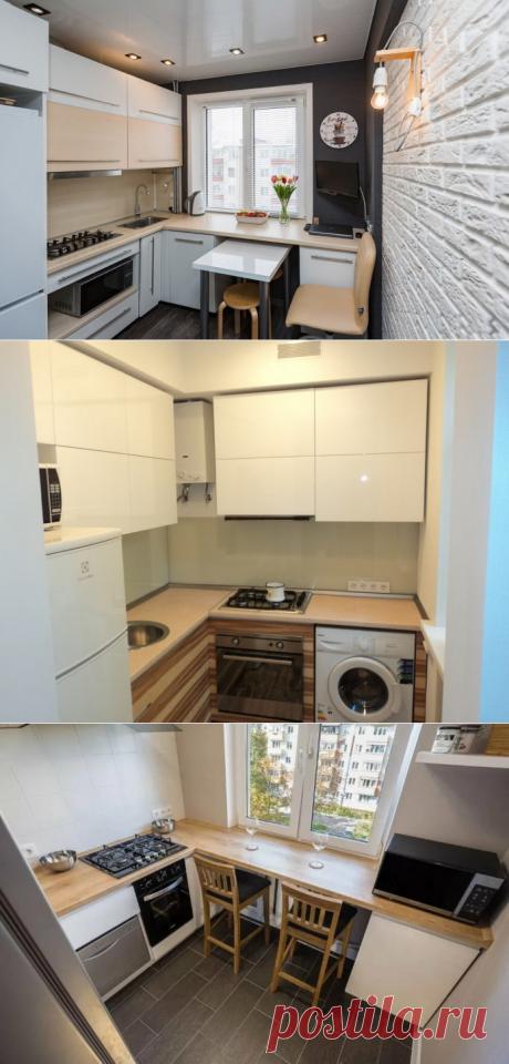 Дизайн кухни 2 на 2 метра: реальные фото и советы по обустройству