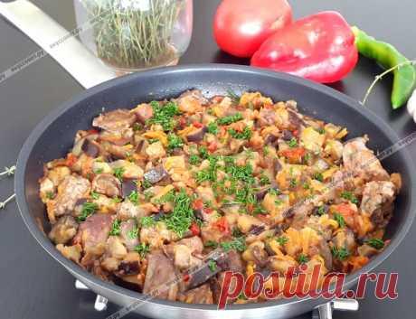 Баклажаны с печенью по-милански пошаговый рецепт с фото