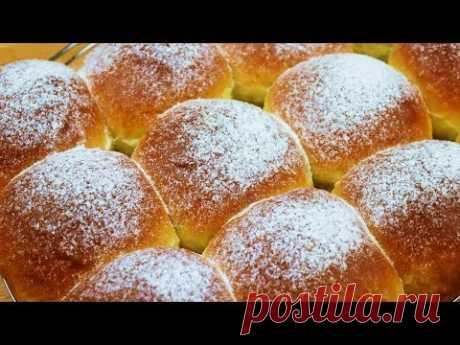Сдобное и очень вкусное тесто для булочек и пирожков! С варёной сгущёнкой просто райские булочки;) Обязательно попробуйте их, и они превзойдут все ожидания! ...