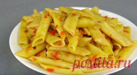 Как вкусно приготовить макароны в сковороде | Кухня наизнанку | Яндекс Дзен