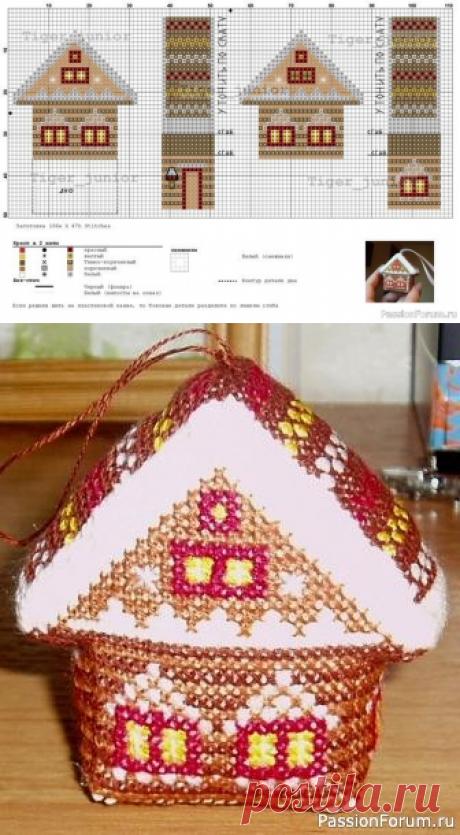 Домик-волшебник | Схемы вышивки крестом, вышивка крестиком