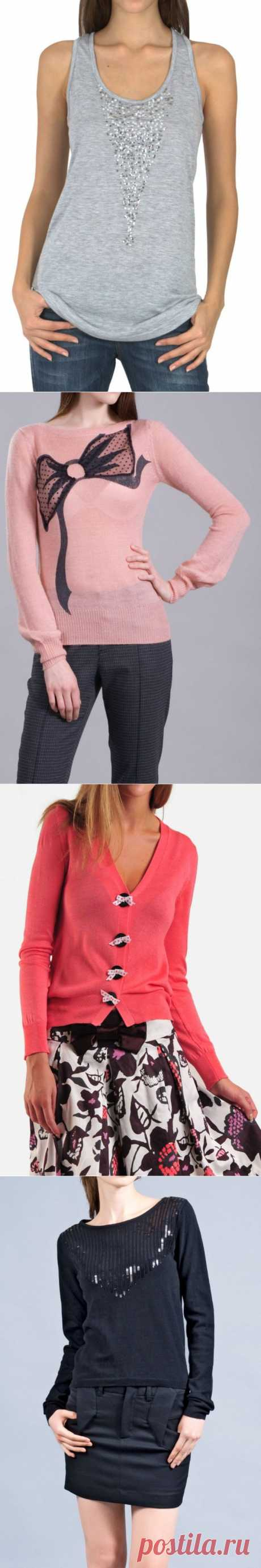 Подсмотренные идеи / Декор / Модный сайт о стильной переделке одежды и интерьера