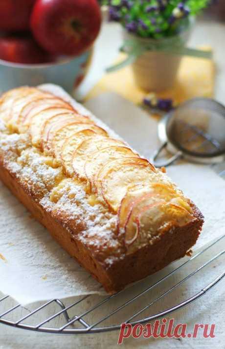 Кекс с яблоками и кунжутом - рецепт с фотографиями - Patee. Рецепты