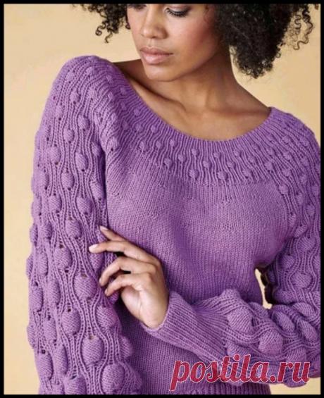 """Зимняя вязаная """"сказка"""" - 4 модели красивых свитеров и джемперов своими руками!"""