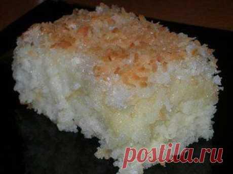 Изумительный кокосовый пирог. | Семья и дом