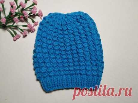 Как очень просто связать красивую шапку на весну » «Хомяк55» - всё о вязании спицами и крючком